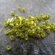 50 gr. de perles de rocailles vert pomme