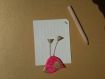 Magnet oiseau rose