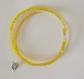 Bracelet de perle jaune, ombre et blanc transparent
