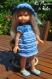 Tuto b2 / fiche explications tricot pour réaliser un ensemble 2 pièces pour poupée chéries de corolle de 33 cm