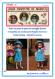 Tuto c / fiche explications tricot pour réaliser un ensemble 2 pièces pour poupée de 33 cm