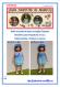 Tuto d / fiche explications tricot pour réaliser un ensemble 3 pièces au tricot pour poupée de 33 cm