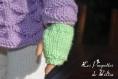 Tuto n / fiche explications tricot (et crochet pour l'écharpe) pour réaliser une tenue complète de 5 éléments pour poupées de 50 cm