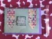 Carte anniversaire coeur  (modèle cacu001)