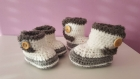 Chaussons bébé, boots, slippers, winter slippers, baby slippers, booties, chaussons d hiver, newborn gift,