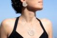 Boucles d'oreilles en argent certifié fairmined - joaillerie éthique