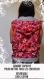 Veste capuche réversible sans manches au reglisse! rose avec des bonbons! 100% coton, très confortable pour l'été