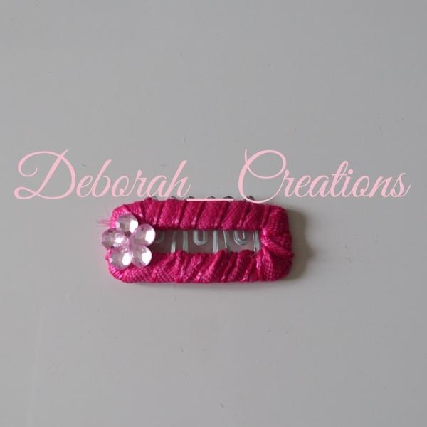 où acheter meilleur prix grandes variétés Barrette anti glisse rose idéal bébé petite fille ou chien ...