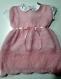 Tricot robe bébé fille 6 mois
