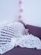 Couverture bébé crochet baptême