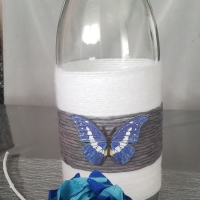 Vase + fleur