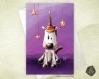 Carte de voeux  fête des mères noël nouvel an amitié anniversaire  licorne magique