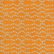 Tissu patchwork orange avec petites fleurs, collection : now we're goin' places, timeless treasures