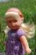 Robe violette pour poupée mini corolline de corolle