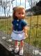Tenue pour poupées corolle les chéries, ma chérie, paola reina