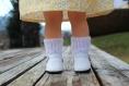 Socquettes pour poupée marie-françoise de petitcollin