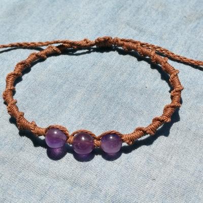 Bracelet macramé simple