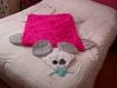 Jeté de lit plaid ou tapis souris pour enfant