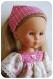 Patron : blouse paysanne, pantalon...fichu pour poupées de 32-33 cm