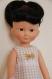 Patron : robe vichy pour poupées de 32-33 cm