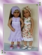Patron : robe vichy pour poupées kidz 'n' cats de 46 cm