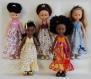 Fiche tricot-couture : robe dos nu pour poupées de 32-33 cm