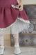 Patron : robe chasuble et gilet pour poupées maru & friends - 52 cm