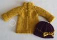 Fiche tricot : veste et bonnet pour poupée maru & friends de 52 cm