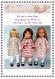 Fiche tricot : la robe en deux temps pour poupées de 46/50 cm
