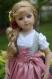 Patron : dirndl pour poupées maru & friends - 52 cm