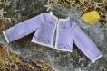 Fiche tricot : love me tender - robe et gilet pour poupées götz de 50 cm