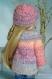 Fiche tricot : snow time - veste et bonnet pour poupées fashion friends et little darlings