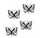 Flex 2,5cm 4 papillons 2