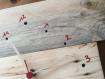 Pendule murale en bois de palette recyclé