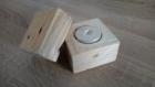 Bougeoir cube en bois de palette, cube surprise, bougeoir de table