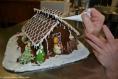 Maison de noel en chocolat fait maison