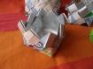 Boîte en vannerie tetrapak
