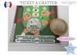 Jeu carte à gratter ticket annonce grossesse bébé : tu vas être tonton / papy...ou texte personnalisé modèle poker full