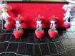 5 breloques charlotte aux fraises