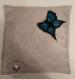 Broche papillon feutré