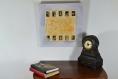 Cadre photo, cadre décoratif, contemporain et original, châssis entoilé, toile peinte à la main, décoration murale