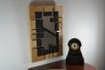 Miroir, cadre décoratif, contemporain et original, travail du bois fait main, bois peint à la main, décoration murale