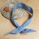 Headband à nouer vichy