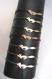 Bracelet grigri petit renard avec fin cordon lurex, couleur au choix