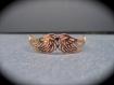 Bracelet plaqué or ailes d'ange ajourées