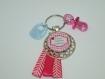 Future maman confirmée (-_-) porte clés ou bijou de sac -idée cadeau original :