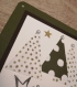 Carte de noel star in forest