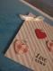 Carte de saint valentin love is in the air