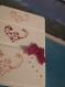 Carte de saint valentin three hearts