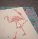 Mot amical flamingo